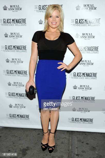 Actress Megan Hilty attends 'The Glass Menagerie' Broadway Opening Night at Booth Theater on September 26 2013 in New York City