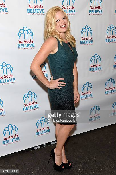 Actress Megan Hilty attends Voices For The Voiceless Stars For Foster Kids at St James Theater on June 29 2015 in New York City