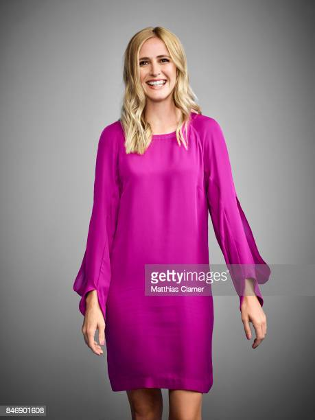 Actress Megan Ketch from 'American Gothic' is photographed for Entertainment Weekly Magazine on July 21 2016 at Comic Con in the Hard Rock Hotel in...