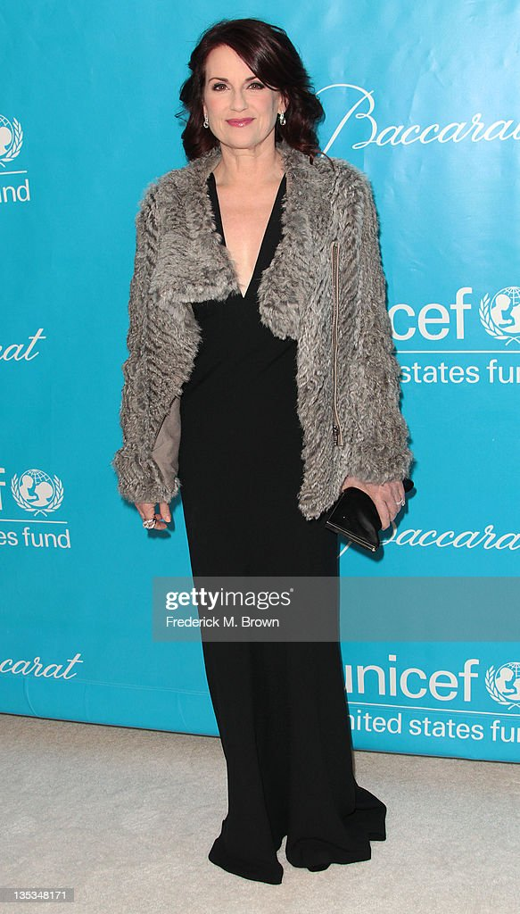 Actress Megan Mulally attends The 2011 Unicef Ball at The Beverly Wilshire Hotel on December 8, 2011 in Beverly Hills, California