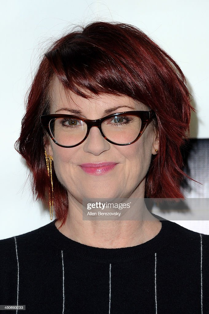Actress Megan Mullally arrives at the Los Angeles premiere of 'G.B.F.' at Chinese 6 Theater in Hollywood on November 19, 2013 in Hollywood, California.