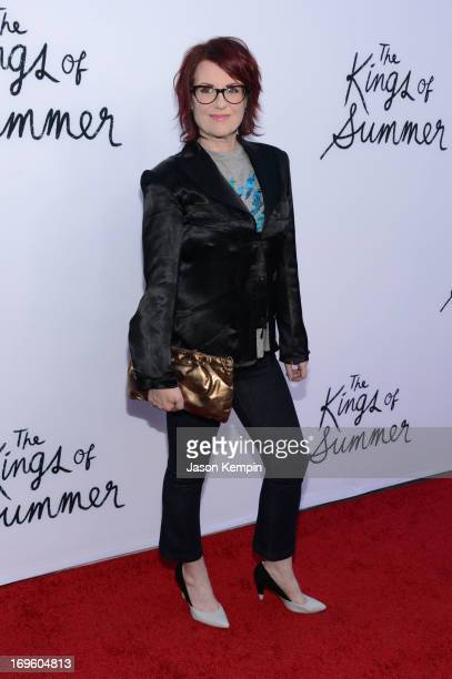 Actress Megan Mullally arrives at the screening of CBS Films' 'The Kings of Summer' at ArcLight Cinemas on May 28 2013 in Hollywood California