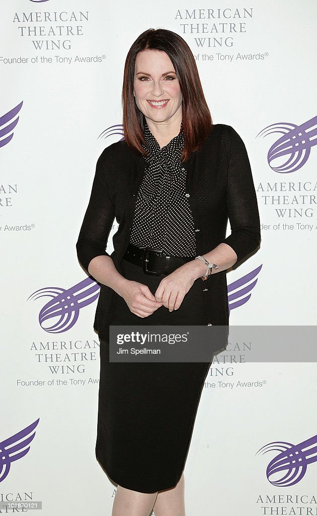 Actress Megan Mullally attends the 2010 American Theatre Wing Spring Gala at Cipriani 42nd Street on June 7, 2010 in New York City.