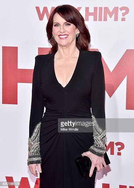 Actress Megan Mullally attends the premiere of 20th Century Fox's 'Why Him' at Regency Bruin Theater on December 17 2016 in Westwood California
