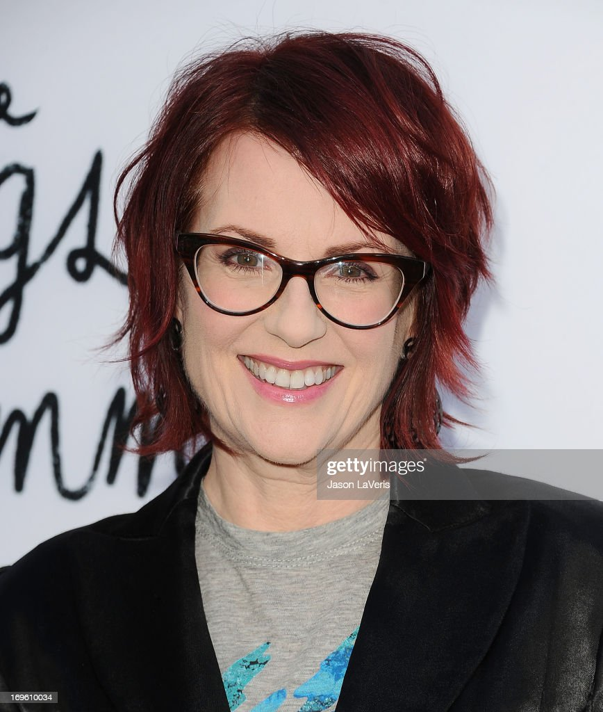Actress <a gi-track='captionPersonalityLinkClicked' href=/galleries/search?phrase=Megan+Mullally&family=editorial&specificpeople=201612 ng-click='$event.stopPropagation()'>Megan Mullally</a> attends the premiere of 'The Kings Of Summer' at ArcLight Cinemas on May 28, 2013 in Hollywood, California.