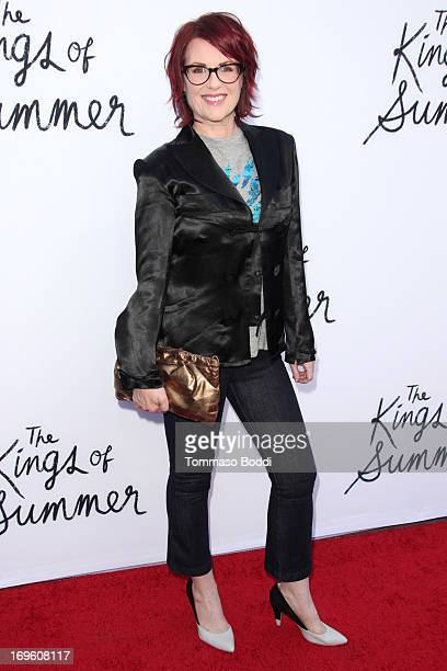 Actress Megan Mullally attends the 'The Kings Of Summer' Los Angeles premiere held at the ArcLight Hollywood on May 28 2013 in Hollywood California