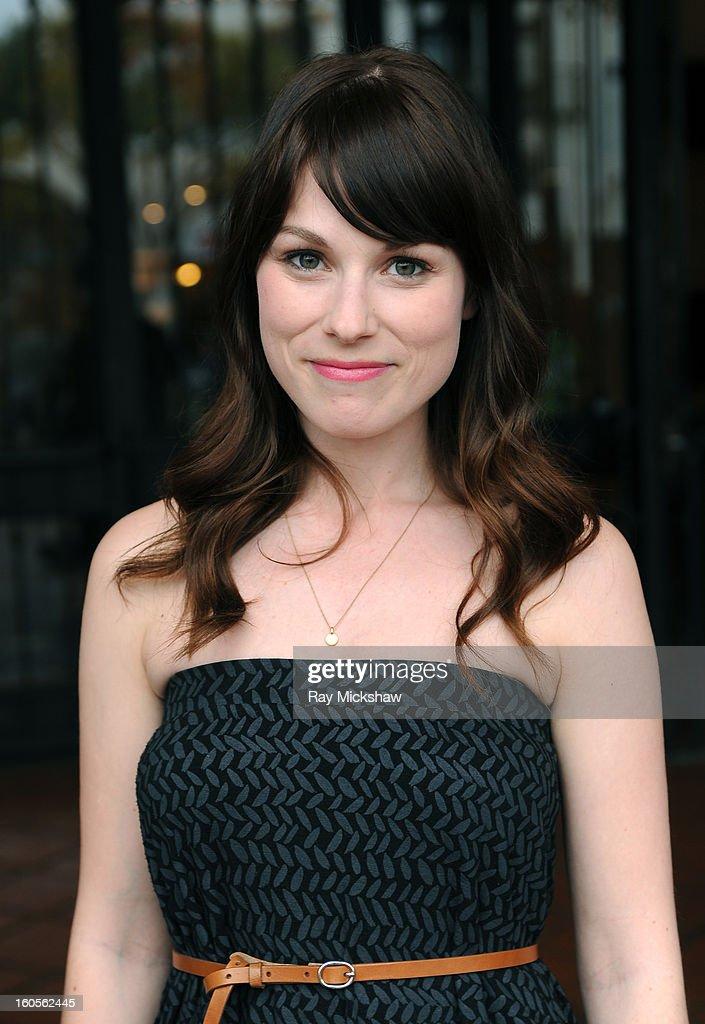 Actress Meghan Heffern of the film 'Old Stock' at the 28th Santa Barbara International Film Festival on February 2, 2013 in Santa Barbara, California.