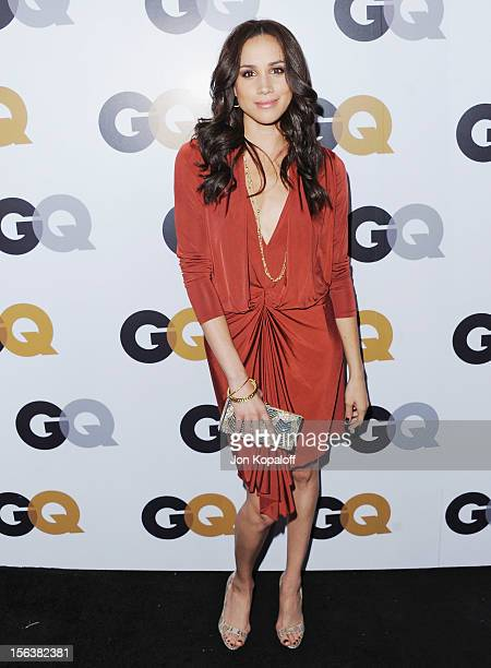 Actress Meghan Markle arrives at GQ Men Of The Year Party at Chateau Marmont on November 13 2012 in Los Angeles California