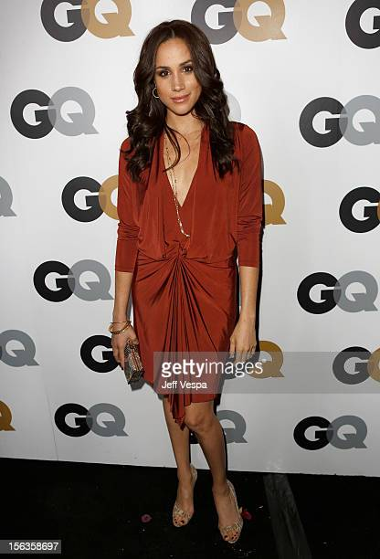 Actress Meghan Markle arrives at the GQ Men of the Year Party at Chateau Marmont on November 13 2012 in Los Angeles California