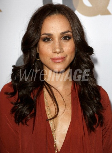 Actress Meghan Markle arrives at the GQ Men of the Year ...