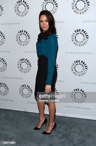 Actress Meghan Markle arrives at The Paley Center For Media Presents An Evening With 'Suits' MidSeason Premiere Screening And Panel at The Paley...