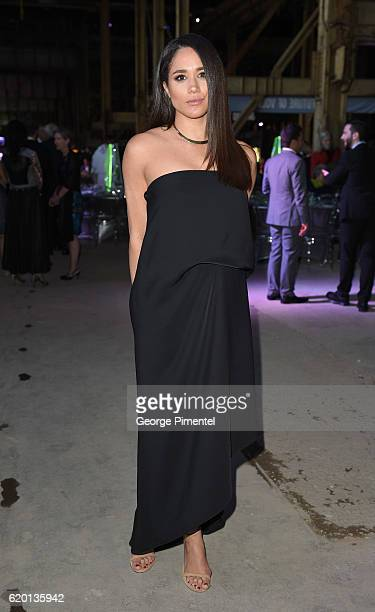 Actress Meghan Markle attends Luminato Big Bang Bash 2016 held at the Hearn Generating Station on June 9 2016 in Toronto Canada