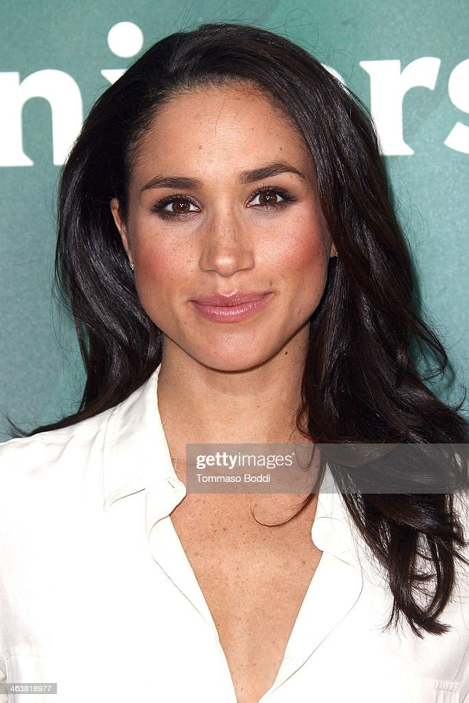 Actress Meghan Markle attends the NBC/Universal 2014 TCA Winter Press Tour held at The Langham Huntington Hotel and Spa on January 19, 2014 in Pasadena, California.