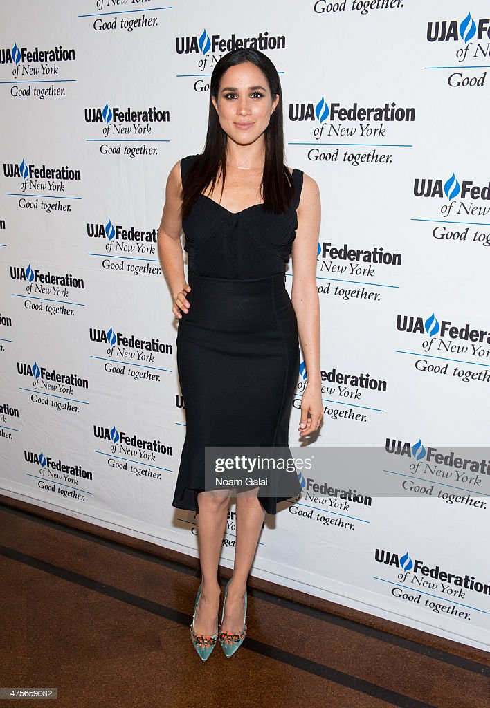 Actress Meghan Markle attends the UJA-Federation New York's Entertainment Division Signature Gala at 583 Park Avenue on June 2, 2015 in New York City.
