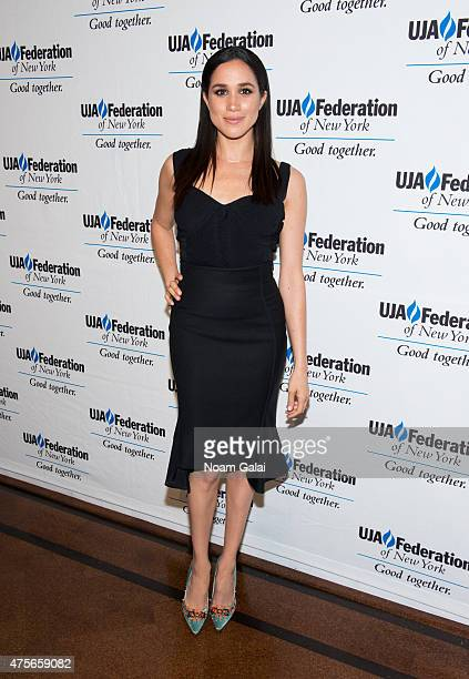 Actress Meghan Markle attends the UJAFederation New York's Entertainment Division Signature Gala at 583 Park Avenue on June 2 2015 in New York City