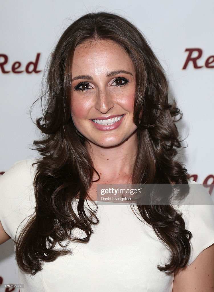 Actress Meghan McGregor attends a screening of Integrity Film Production's 'Red Wing' at Harmony Gold Theatre on August 6, 2013 in Los Angeles, California.