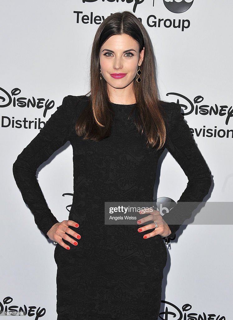 Actress Meghan Ory arrives at the Disney Media Networks International Upfronts at Walt Disney Studios on May 19, 2013 in Burbank, California.