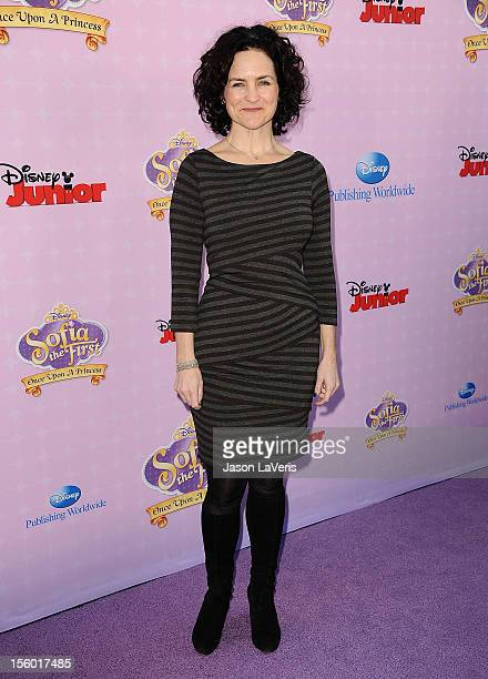 Actress Meghan Strange attends the premiere of 'Sofia The First Once Upon a Princess' at Walt Disney Studios on November 10 2012 in Burbank California