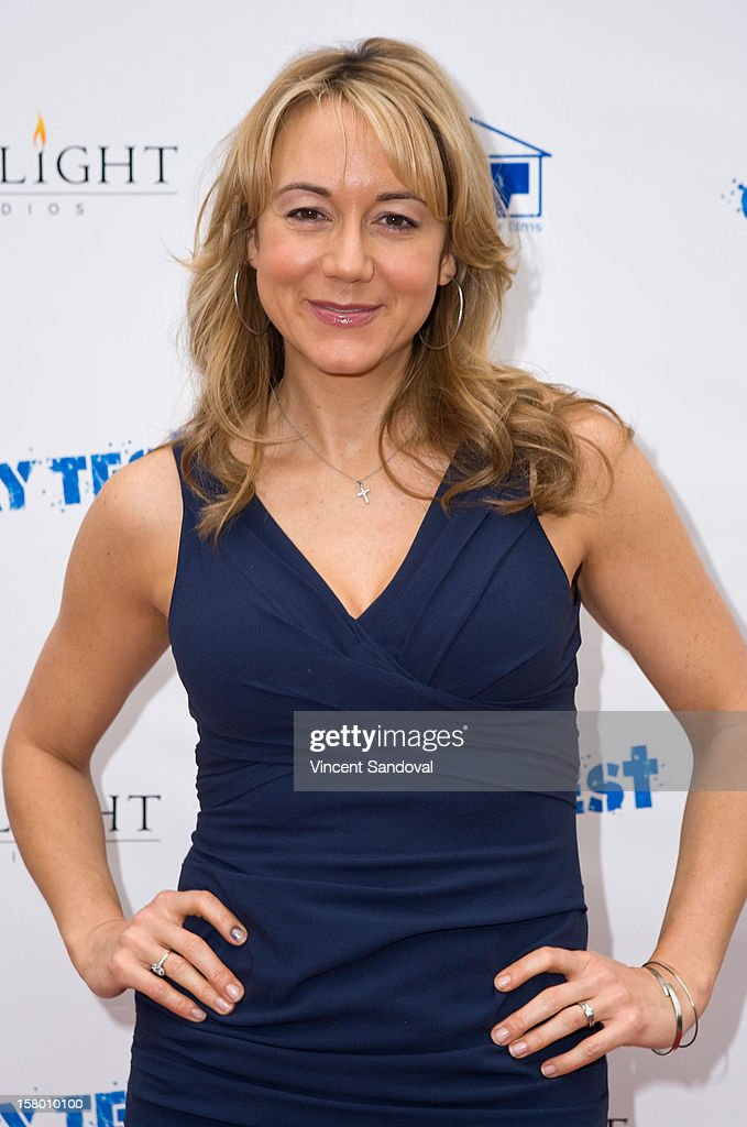 Actress Megyn Price attends the Los Angeles Premiere of '3 Day Test' at Downtown Independent Theatre on December 8, 2012 in Los Angeles, California.