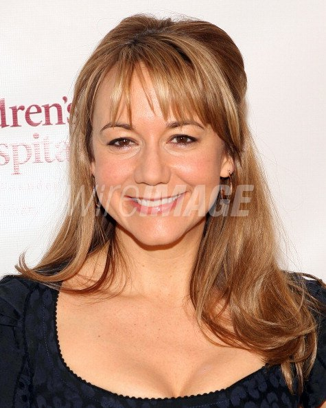 Actress Megyn Price Attends The Patrick Warburtons Celebrity Golf