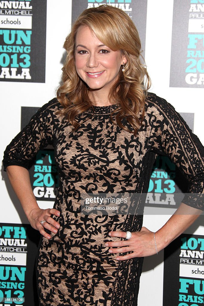 Actress Megyn Price attends the Paul Mitchell's 10th Annual Fundraiser held at The Beverly Hilton Hotel on May 5, 2013 in Beverly Hills, California.