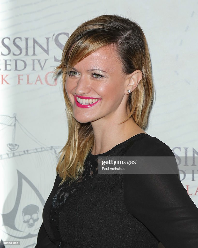 Actress Meili Cady attends the launch party for Assassin's Creed IV Black Flag at Greystone Manor Supperclub on October 22, 2013 in West Hollywood, California.