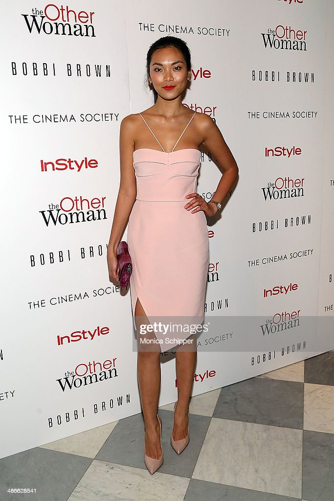 Actress Meki Saldana attends The Cinema Society & Bobbi Brown with InStyle screening of 'The Other Woman' at The Paley Center for Media on April 24, 2014 in New York City.
