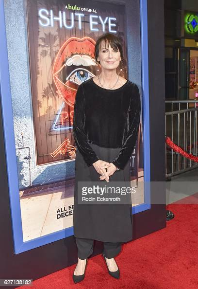 Actress Mel Harris attends the premiere of Hulu's 'Shut Eye' at ArcLight Hollywood on December 1 2016 in Hollywood California