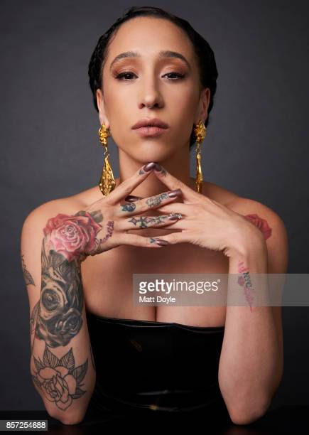 Actress Mela Murder from the film 'The Florida Project' poses for a portrait at the 55th New York Film Festival on October 1 2017