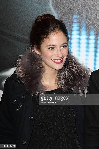 Actress Melanie Bernier attends the 'Cafe De Flore' Paris premiere photocall at UGC Danton on January 23 2012 in Paris France