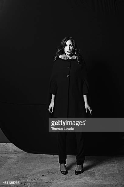Actress Melanie Bernier is photographed for Self Assignment on November 9 2013 in Rome Italy