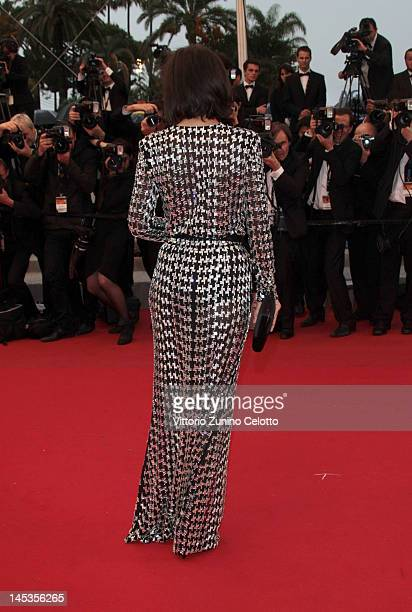 Actress Melanie Doutey attends the Closing Ceremony and the 'Therese Desqueyroux' Premiere during the 65th Annual Cannes Film Festival at Palais des...