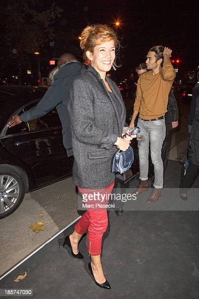 Actress Melanie Doutey attends the Isabel Marant for HM presentation on October 24 2013 in Paris France