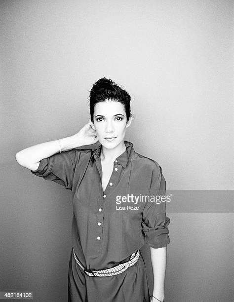 Actress Melanie Doutey is photographed for Self Assignment on July 27 2015 in Paris France