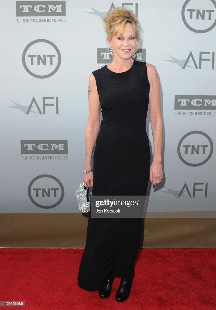 Actress Melanie Griffith arrives at the 2014 AFI Life Achievement Award Gala Tribute at Dolby Theatre on June 5, 2014 in Hollywood, California.