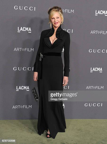 Actress Melanie Griffith arrives at the 2016 LACMA Art Film Gala Honoring Robert Irwin And Kathryn Bigelow Presented By Gucci at LACMA on October 29...