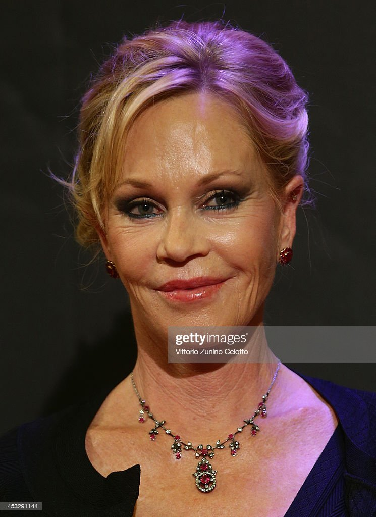 Actress Melanie Griffith attends Lucy Premiere during the 67th Locarno Film Festival on August 6, 2014 in Locarno, Switzerland.
