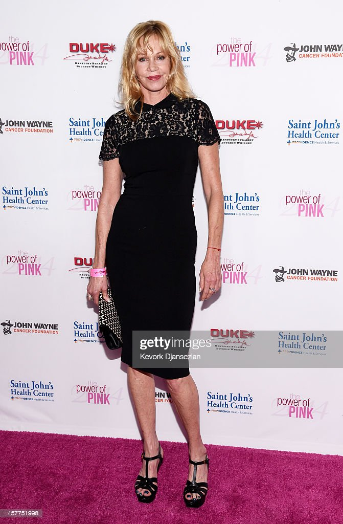 Actress Melanie Griffith attends Power of Pink 2014 Benefiting the Cancer Prevention Program at Saint John's Health Center at The House of Blues...