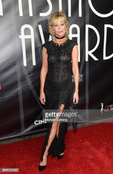 Actress Melanie Griffith attends the 4th Annual CineFashion Film Awards at El Capitan Theatre on October 8 2017 in Los Angeles California