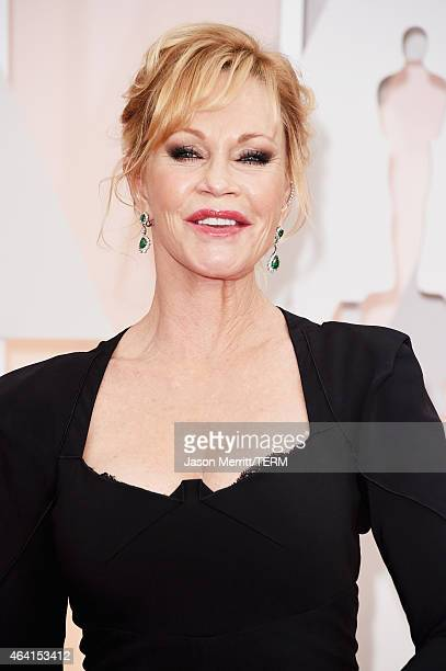 Actress Melanie Griffith attends the 87th Annual Academy Awards at Hollywood Highland Center on February 22 2015 in Hollywood California