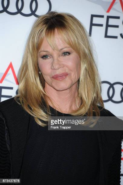Actress Melanie Griffith attends the screening of 'The Disaster Artist ' at AFI FEST 2017 presented by Audi at TCL Chinese Theatre on November 12...