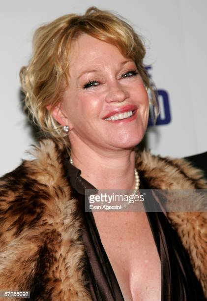 Actress Melanie Griffith attends the world film premiere of New Line Cinema's 'Take The Lead' April 4 2006 in New York City