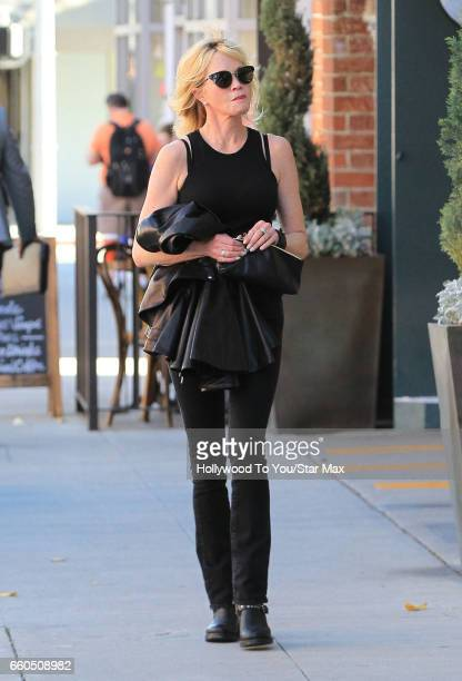 Actress Melanie Griffith is seen on March 29 2017 in Los Angeles California