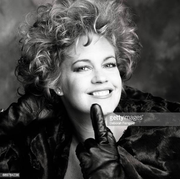 Actress Melanie Griffith poses for a portrait in 1990 in New York City New York