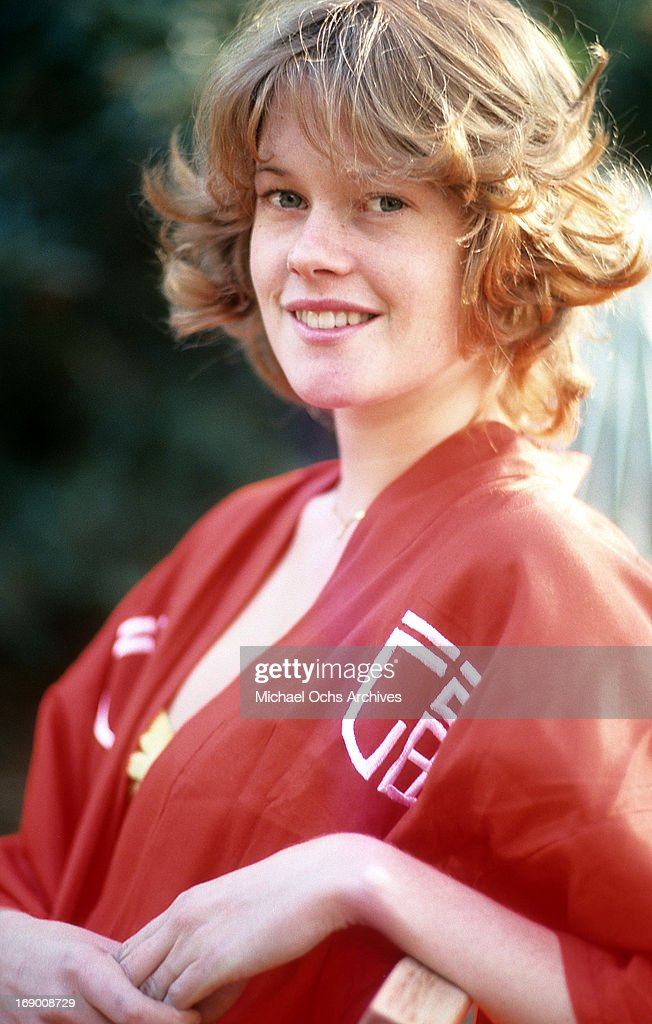 Actress Melanie Griffith poses for a portrait in circa 1975
