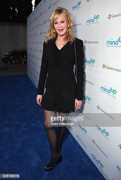 Actress Melanie Griffithattends Annual Goldie's Love In For Kids hosted by Goldie Hawn at Ron Burkle's Green Acres Estate on May 6 2016 in Beverly...