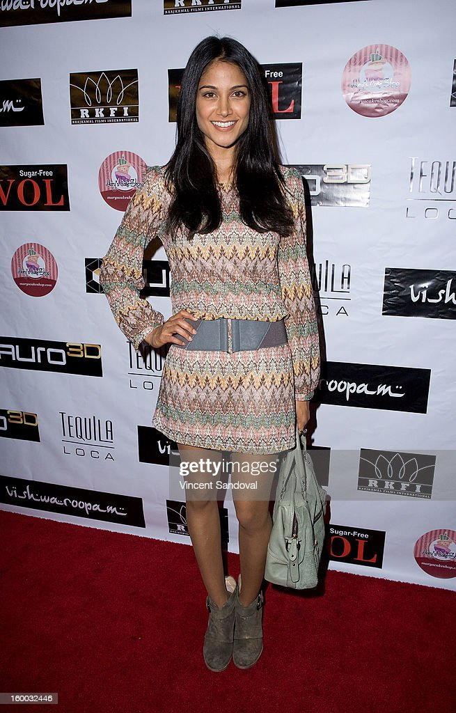 Actress Melanie Kannokada attends the premiere of 'Vishwaroopam' at Pacific Theaters at the Grove on January 24, 2013 in Los Angeles, California.