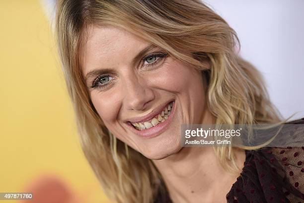 Actress Melanie Laurent arrives at the AFI FEST 2015 presented by Audi Opening Night Gala Premiere of Universal Pictures' 'By The Sea' at TCL Chinese...