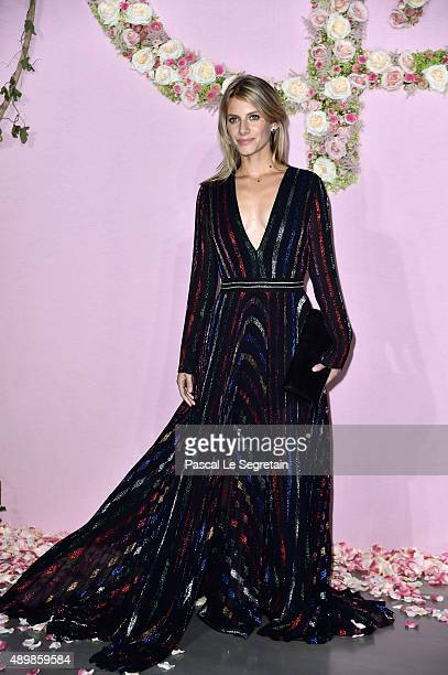 Actress Melanie Laurent attends a photocall during The Ballet National de Paris Opening Season Gala at Opera Garnier on September 24 2015 in Paris...