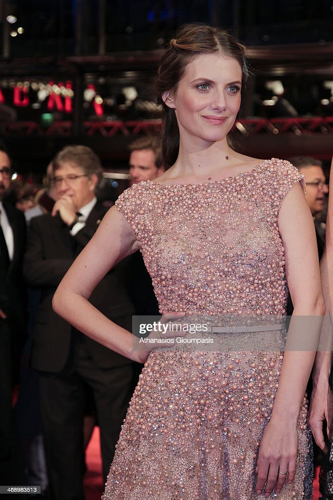 Actress <a gi-track='captionPersonalityLinkClicked' href=/galleries/search?phrase=Melanie+Laurent&family=editorial&specificpeople=2721978 ng-click='$event.stopPropagation()'>Melanie Laurent</a> attends 'Aloft' premiere during 64th Berlinale International Film Festival at Berlinale Palast on February 12, 2014 in Berlin, Germany.